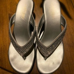 Beautiful Silver Sandals